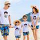 Set áo gia đình đi biển Chibi