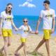 Set áo gia đình đi biển Golden Star