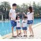Set áo gia đình đi biển Summer Cá