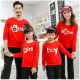 Set áo gia đình thu đông Sweatshirt Father Mother Boy Girl