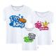 Set áo gia đình King Queen Prince Princess Sắc màu
