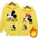 Set áo gia đình thu đông Hoodie Mickey Minnie