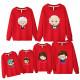 Set áo gia đình thu đông Sweatshirt Gia đình Chibi