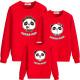 Set áo gia đình thu đông Sweatshirt Panda Dad Mom Baby