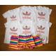 Set áo Adidas sắc màu