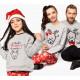 Set áo gia đình thu đông Sweatshirt Noel I'm The Best Christmas Present Ever