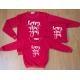 Set áo gia đình thu đông Sweatshirt Happy New Year