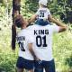 Set áo gia đình King Queen 01