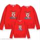 Đồng phục gia đình mùa đông Sweatshirt Chú tuần lộc Happy Deer