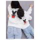 Áo đồng phục gia đình mùa đông Sweatshirt Mickey họa tiết Vẽ - Đồ gia đình Familylove