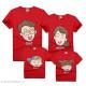 Áo gia đình, đồng phục gia đình Chibi cười vui vẻ - Thời trang Familylove