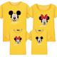 Set áo gia đình Mickey có Chữ ký