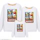 Đồng phục gia đình mùa đông Sweatshirt họa tiết Vịt Donald