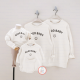 Đồng phục gia đình mùa đông Sweatshirt Good Baby