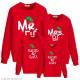 Áo đồng phục gia đình dài tay Sweatshirt Nón Noel - Raise by Elves