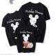 Đồng phục gia đình Familylove Mickey Mouse họa tiết vẽ 2 mặt