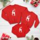 Áo đồng phục gia đình mùa đông Sweatshirt Noel chú Nai tuần lộc - Daddy Mummy Sophia- Đồng phục gia đình mùa đông
