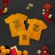 Áo gia đình, đồng phục gia đình Tết chữ Happy New Year đẹp  - Thời trang Familylove